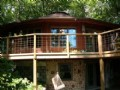 Round House On 30 Wooded Acres