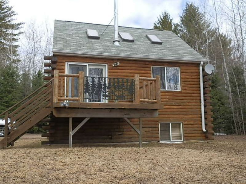 Cabin Near The Willow Flowage : Little Rice : Oneida County : Wisconsin