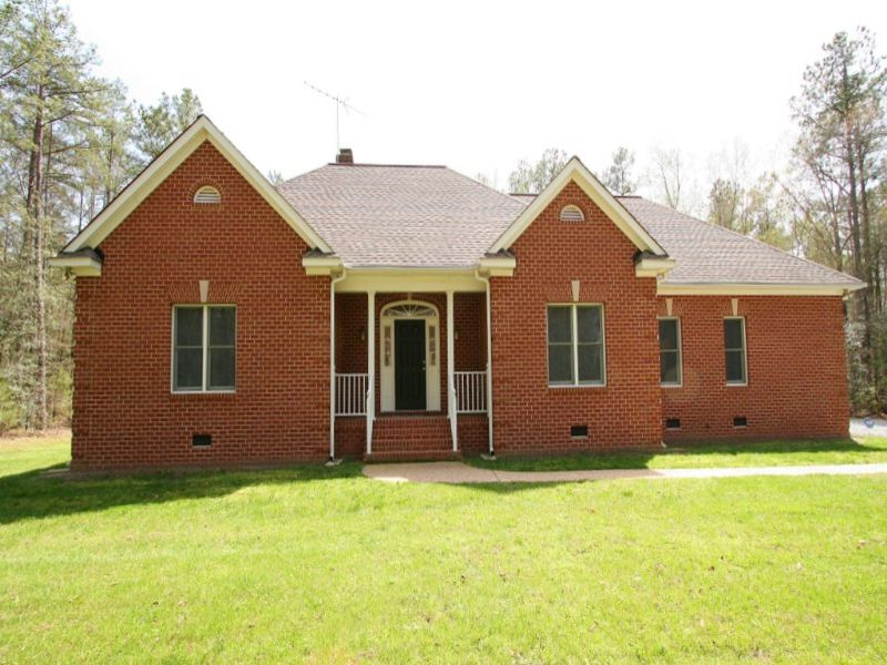 150 Gorgeous Acres W/ Newer Home : Ruther Glen : Caroline County : Virginia