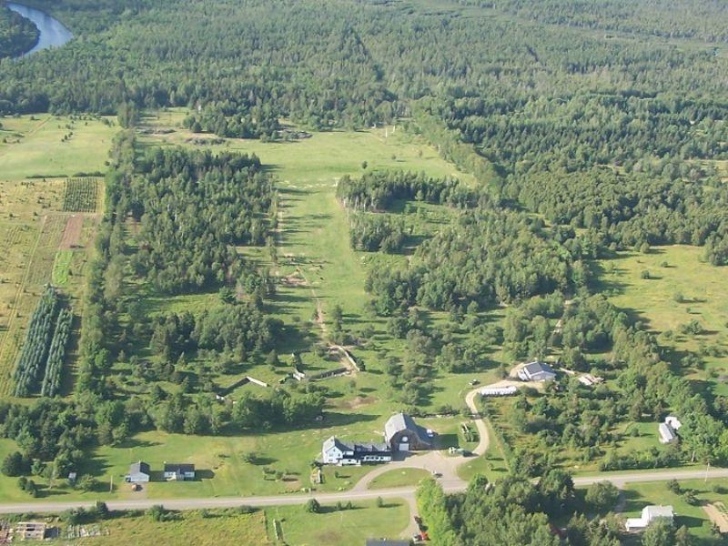 Homestead Lodge : Oxbow : Aroostook County : Maine