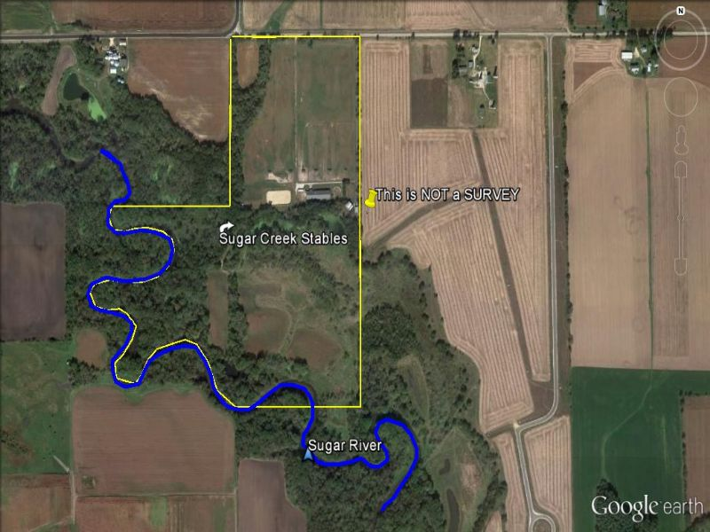 80 Acres - Sugar Creek Stables : Brooklyn : Green County : Wisconsin