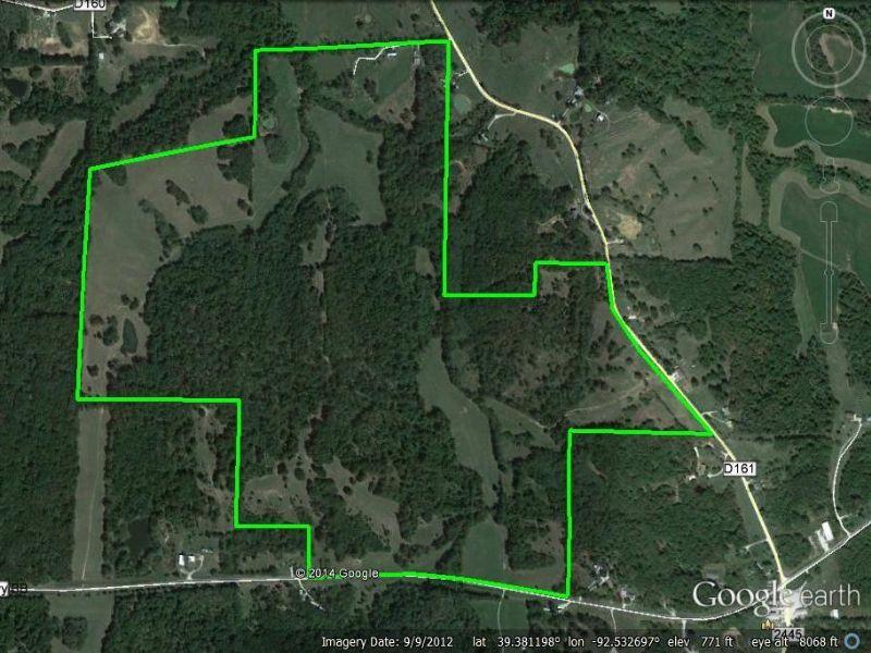247 Acres : Huntsville : Randolph County : Missouri