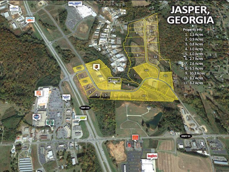 Commercial Development Auction : Jasper : Pickens County : Georgia