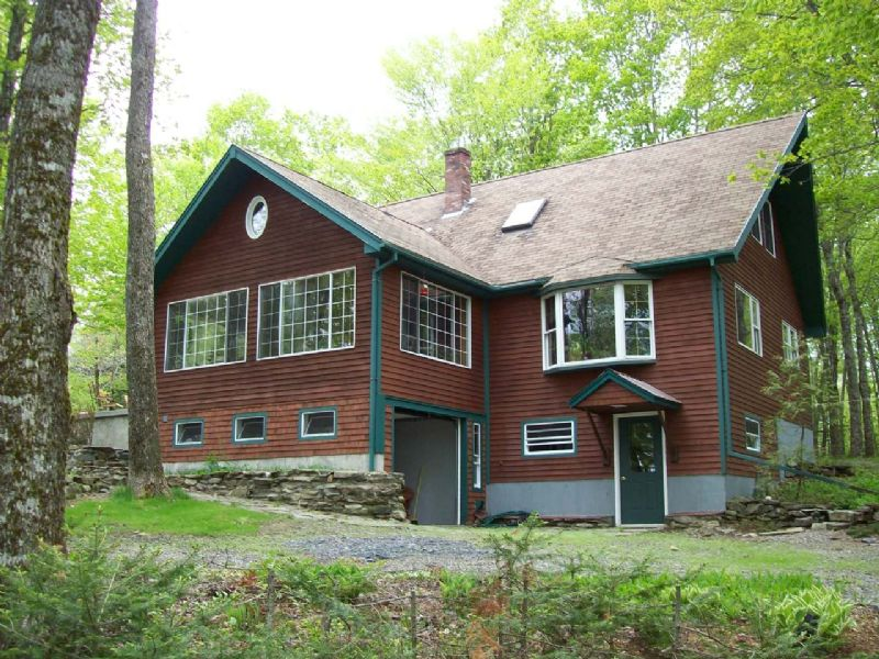 Secluded Home On 180 Acres : Lincoln : Penobscot County : Maine