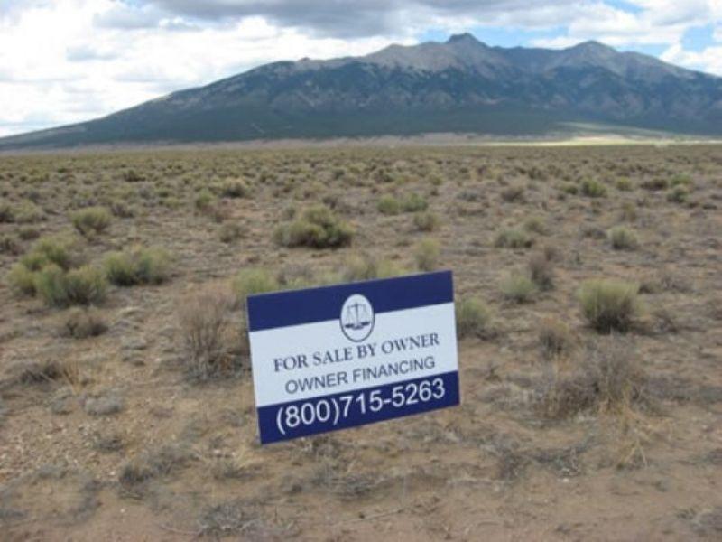 5 Acres, Near Alamosa, Low Down : Blanca : Costilla County : Colorado