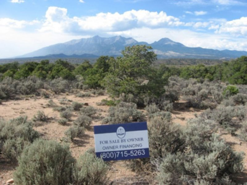 5.35 Acres Near Fort Garland : Fort Garland : Costilla County : Colorado