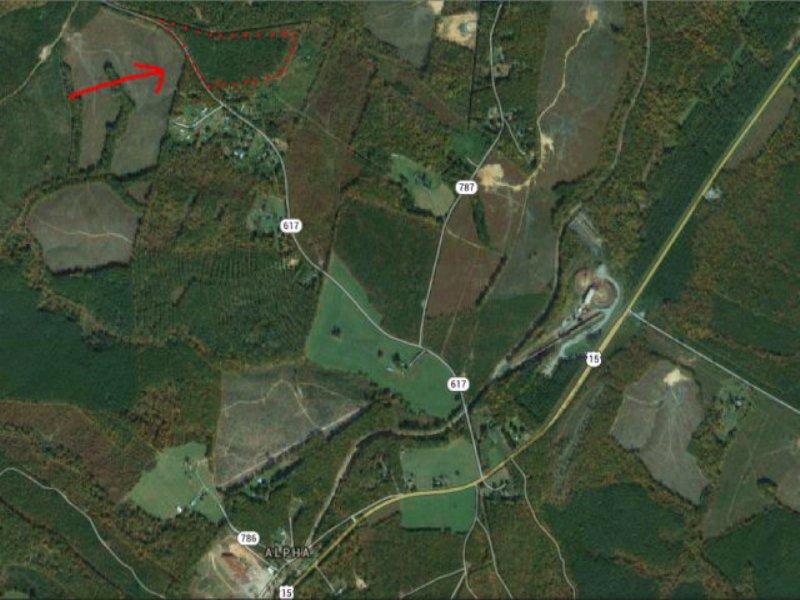 Rural Home Site : Dillwyn : Buckingham County : Virginia