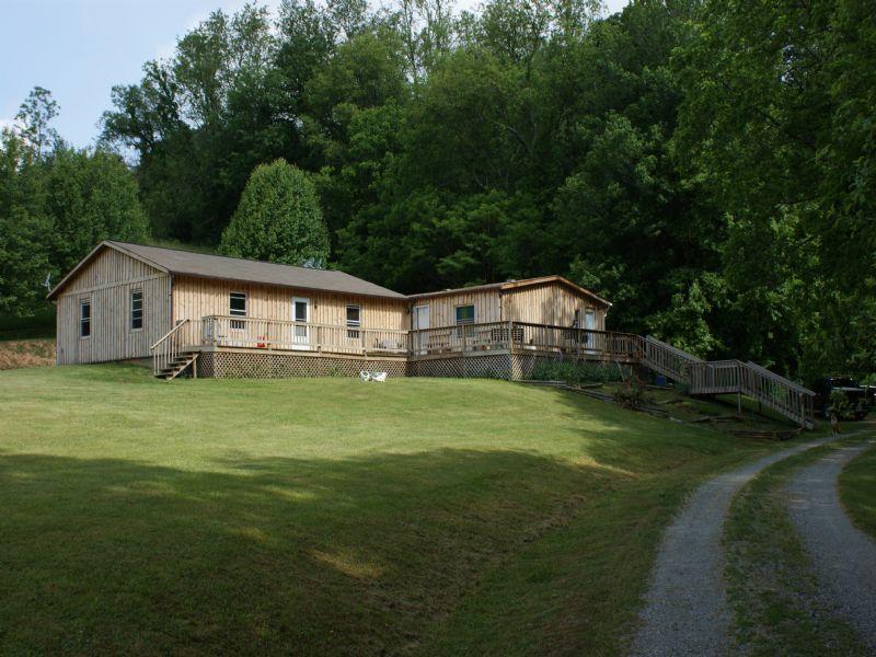Mini Farm 47.78 Acres With House : Elk Creek : Grayson County : Virginia