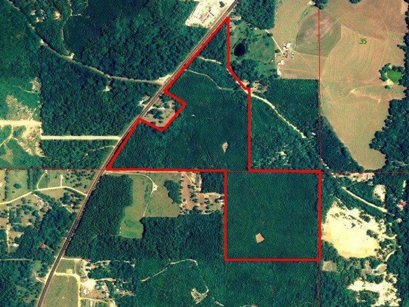 Antioch Tract : Jackson : Clarke County : Alabama