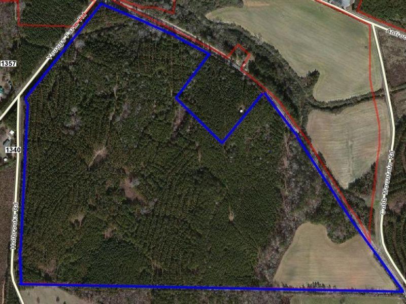 Creek Frontage & 152 Rolling Acres : Cedartown : Polk County : Georgia