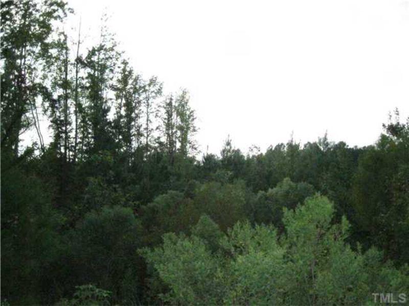Incredible 10.01 Acre Lot : Sanford : Chatham County : North Carolina