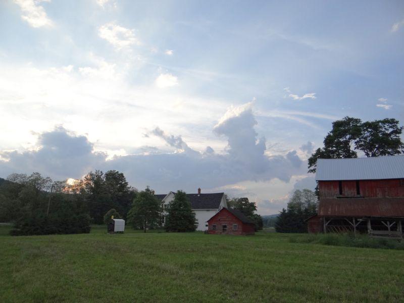 Farmland Farmhouse 306 Acres : Berkshire : Tioga County : New York