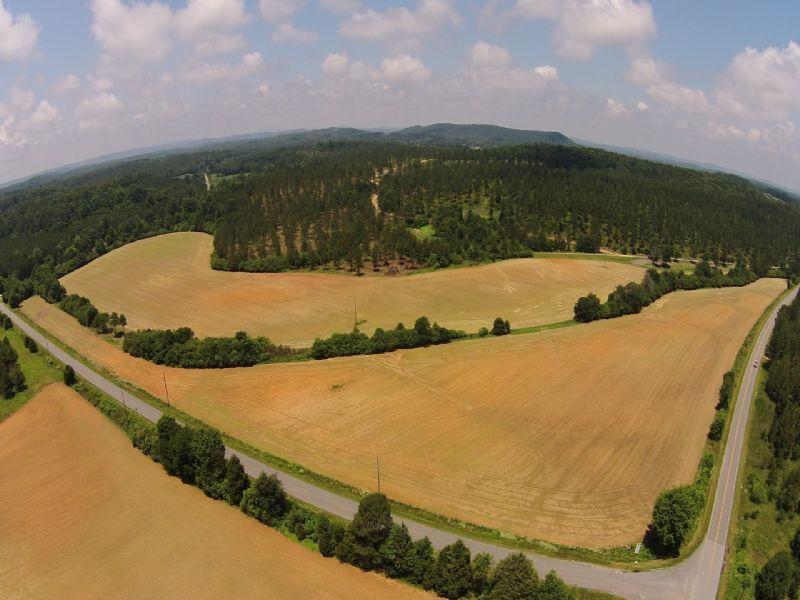 Beautiful Natural Rural Area : Cedartown : Polk County : Georgia