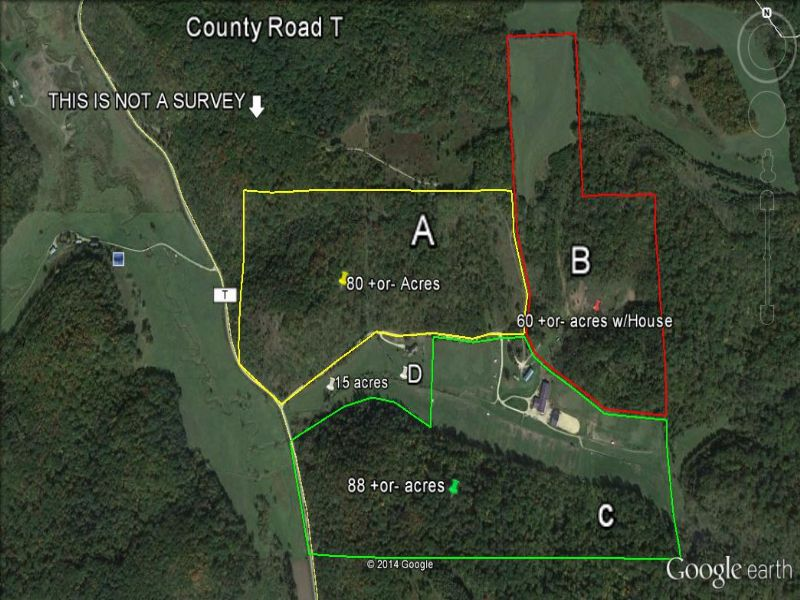 Exceptional Home On 15 Acres : Spring Green : Iowa County : Wisconsin