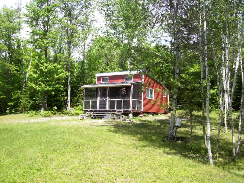 Solar Cabin On 5 Acres : St. Albans : Somerset County : Maine
