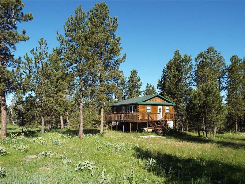 The Podio Cabin : Four Corners : Weston County : Wyoming