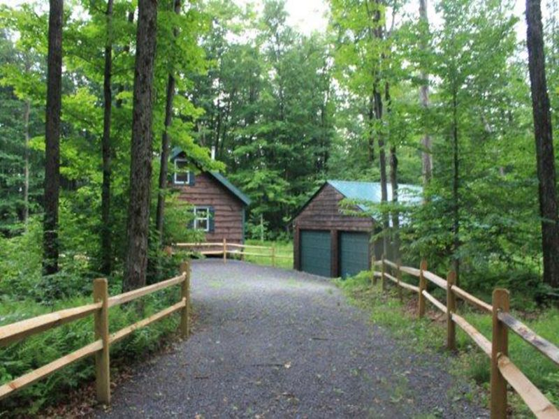 Cabin Fully Furnished State Forest : Croghan : Lewis County : New York