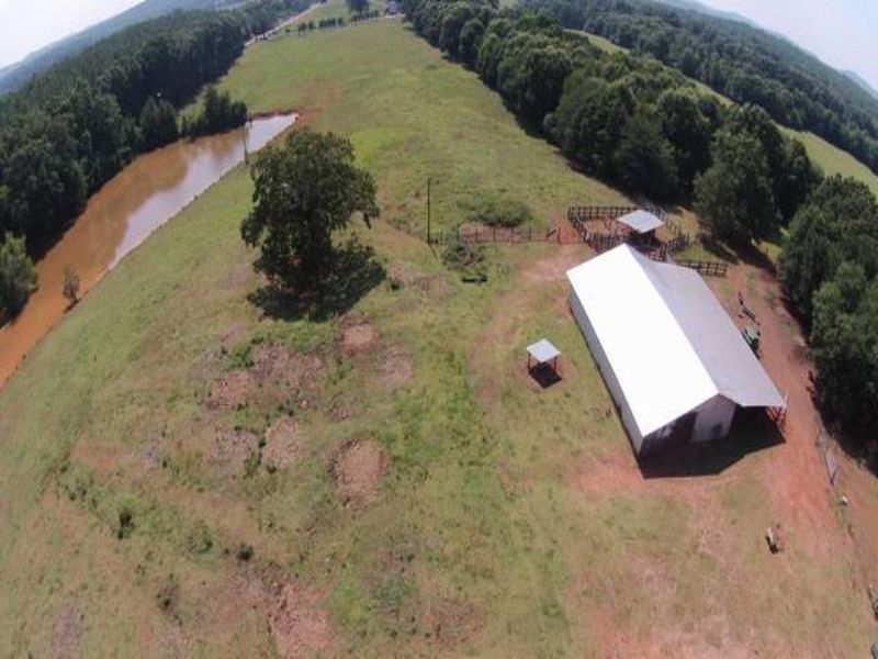 174+/- Acres Cattle Farm : Talladega : Talladega County : Alabama