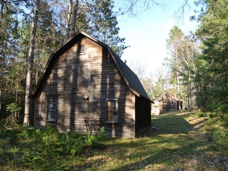 Home On Mercer Lake With 85 Acres : Minocqua : Oneida County : Wisconsin