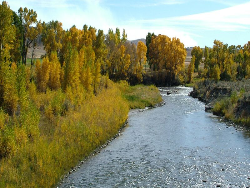 River Rise Ranch : Meeteetse : Park County : Wyoming