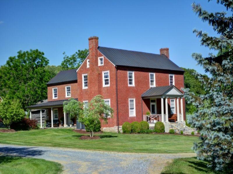 Hidden Valley Farm : Steeles Tavern : Augusta County : Virginia