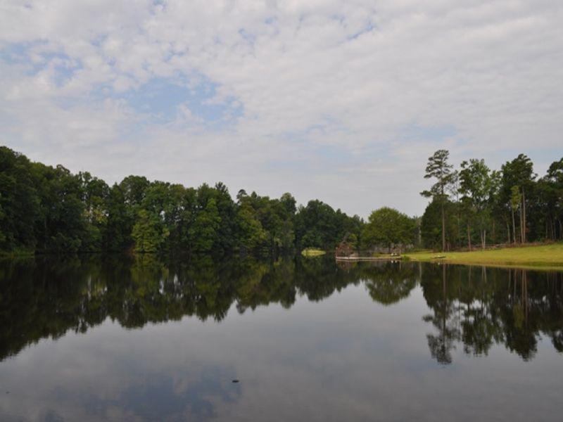 Stewarts Lake : Union Point : Greene County : Georgia