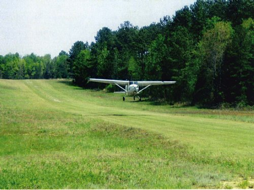 168 Ac Private Airstrip : Iva : Anderson County : South Carolina