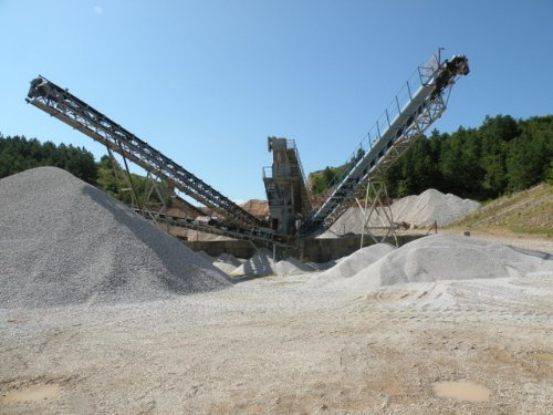 Income Producing Rock Quarry : Bismarck : Hot Spring County : Arkansas