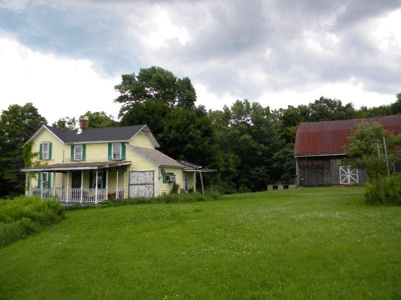 Abandoned Farm In The Finger Lakes : Hornell : Steuben County : New York