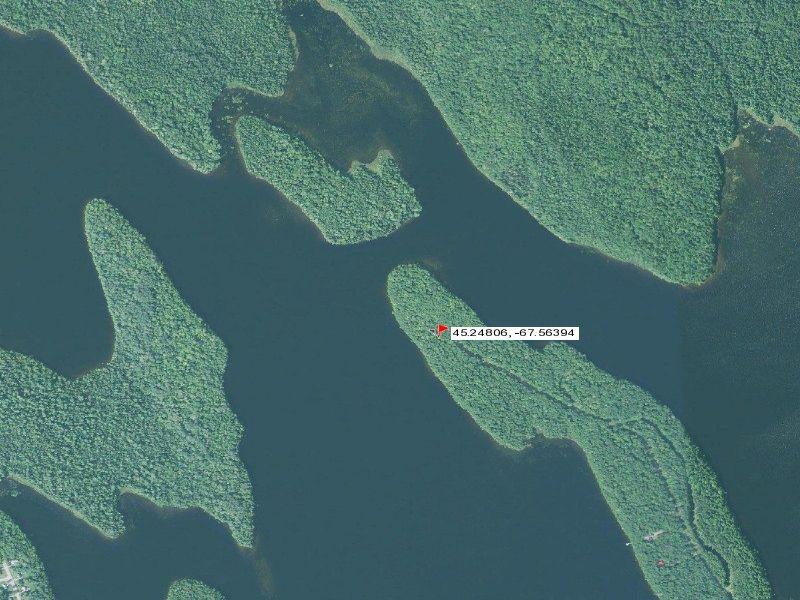 Black Cat Point Grand Falls Flowage : Princeton : Washington County : Maine