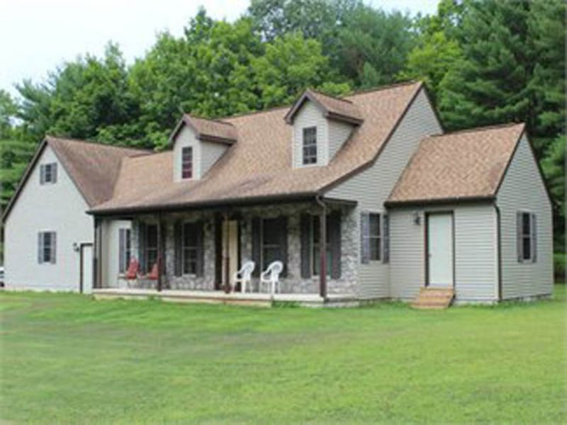 71+/- Acre, Cape Cod Home : Muncy : Lycoming County : Pennsylvania