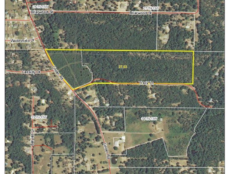 27.63 Acre Development Property : Greenbrier : Faulkner County : Arkansas