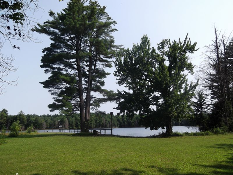 Extreme Waterfront On Private Lake : Bernhards Bay : Oswego County : New York