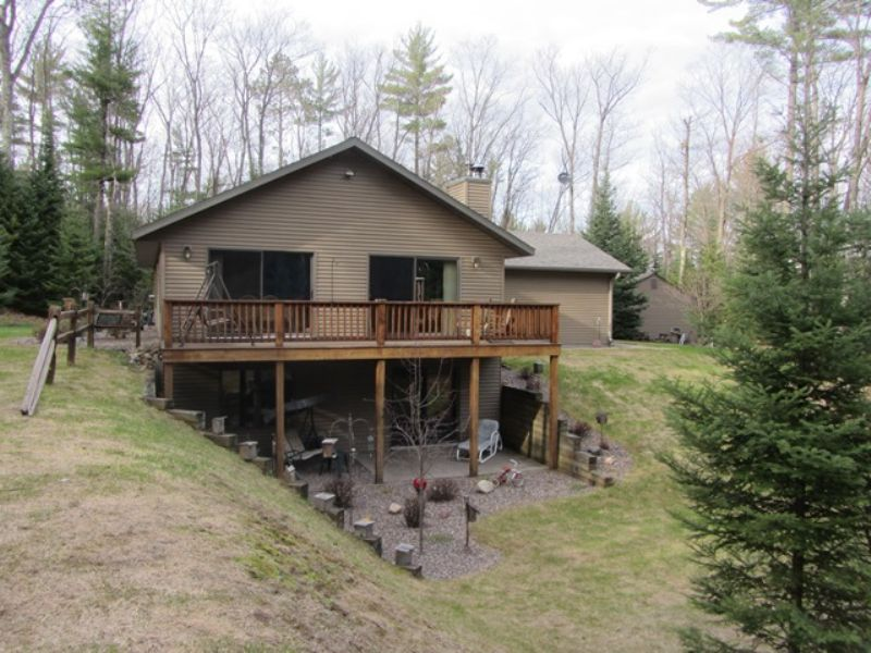 Plum Lake Home : Plum Lake : Vilas County : Wisconsin