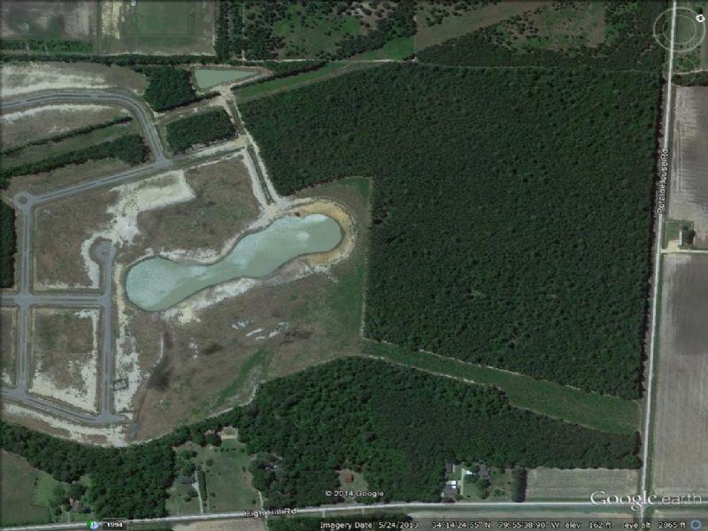 82.71 Acres With Pond : Darlington : Darlington County : South Carolina