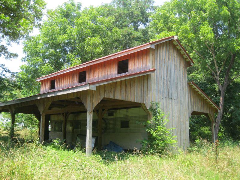 10.25 Acres With Barn & Drive : Siler City : Chatham County : North Carolina