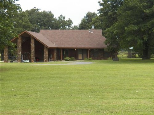 3 Bedroom Home On 45 M/L Acres : Tahlequah : Cherokee County : Oklahoma