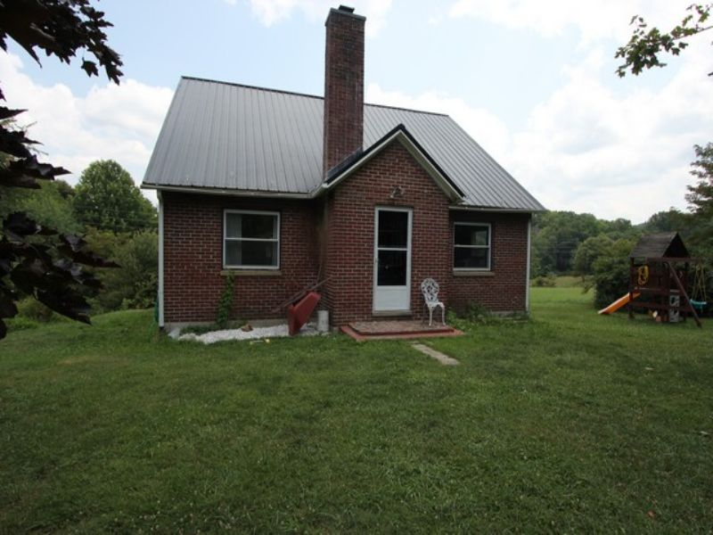 Blue Ridge Mountain Home & Acreage : Elk Creek : Grayson County : Virginia