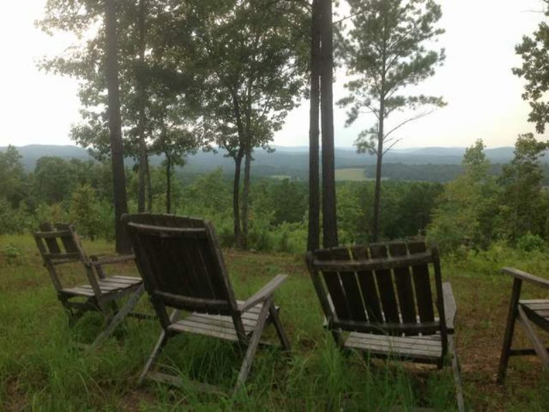55+/- Acres Mountain View Retreat : Ashland : Clay County : Alabama