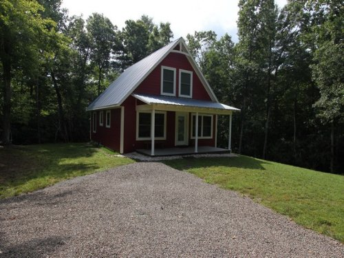 Home & Acreage Close To New River : Independence : Grayson County : Virginia