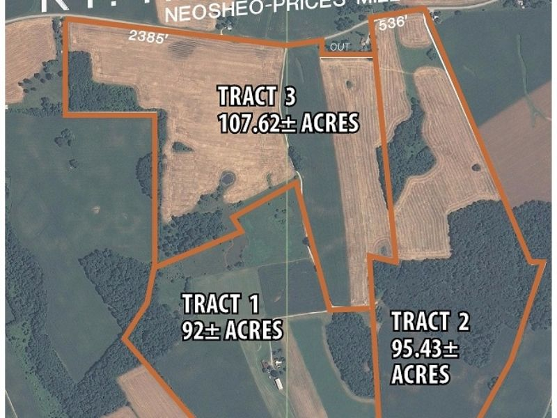 Multi-tract Cropland Auction : Franklin : Simpson County : Kentucky