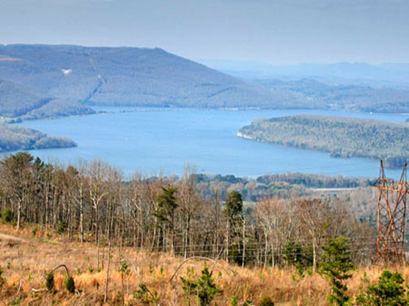 Morgan Point: Fishing & Lake Access : Whiteside : Marion County : Tennessee