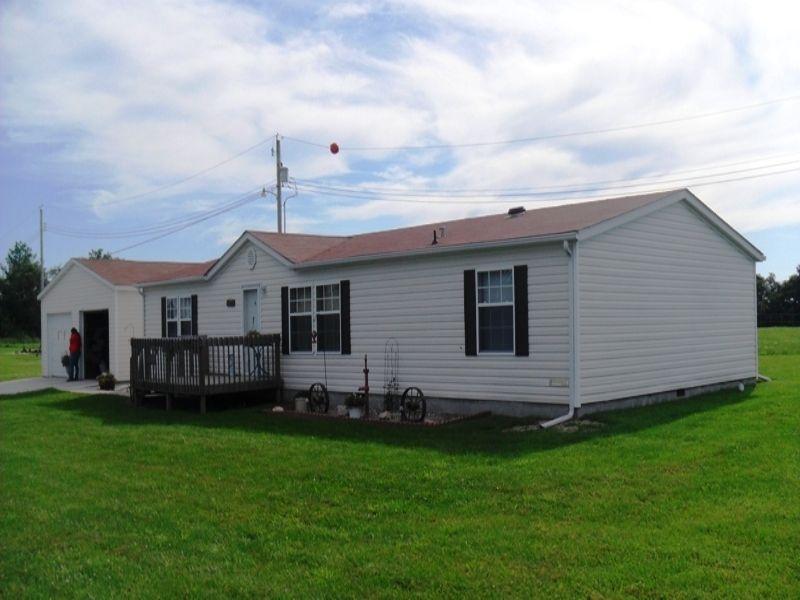 Home And 12 Acres : Green City : Sullivan County : Missouri