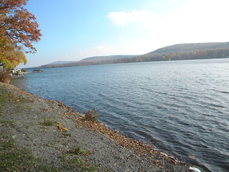 New York Lake Front Campground Rv : Catharine : Schuyler County : New York