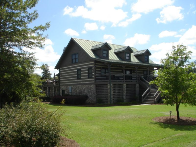 979 Acres With Lodge : Abbeville : Wilcox County : Georgia