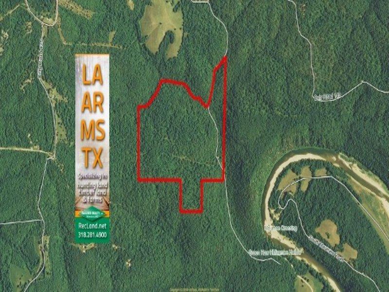 119 Ac - Ozark Timberland Adjoining : Yellville : Searcy County : Arkansas
