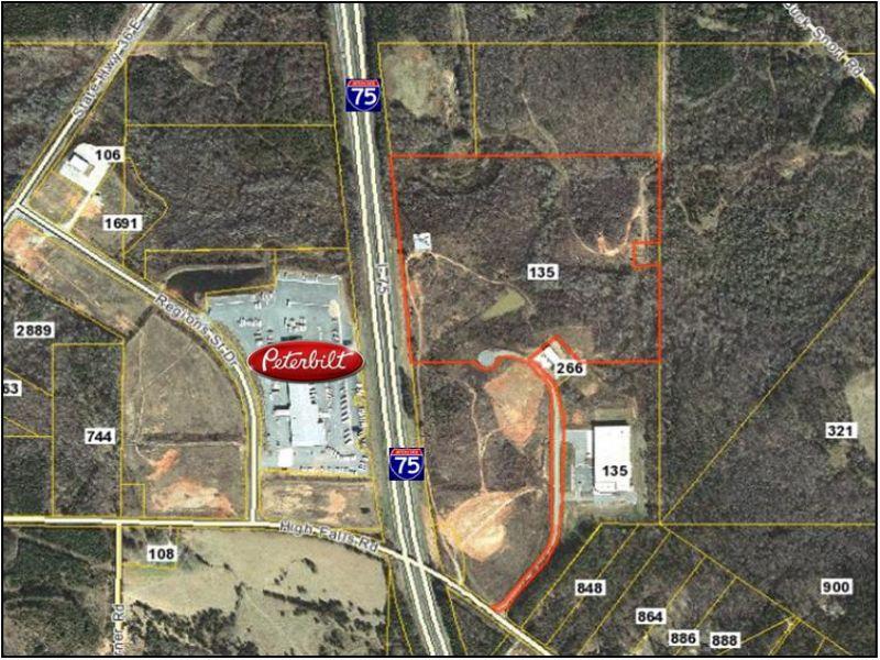 Industrial Acreage - Price Reduced : Jackson : Lamar County : Georgia