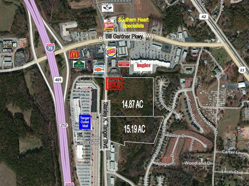 Retail Development Site Farm For Sale Locust Grove