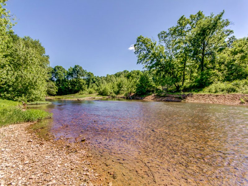 177 Acre Buffalo River Farm : Hohenwald : Lewis County : Tennessee