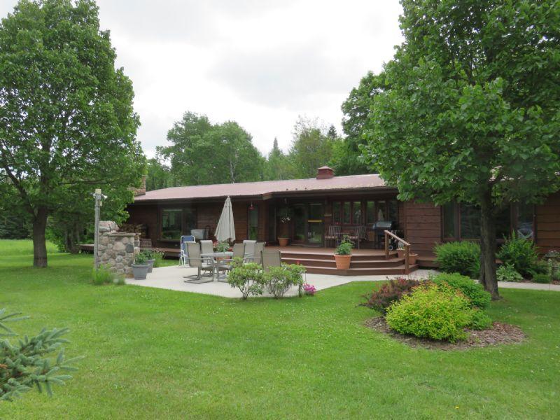Ranch Home In Mercer : Mercer : Iron County : Wisconsin